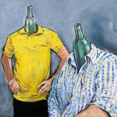 Acryl auf Leinwand, 100 x 100 cm, 2012