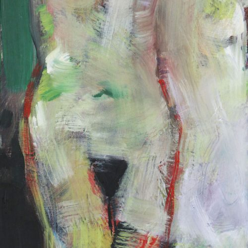 Acryl auf Leinwand, 50 x 40 cm, 2020