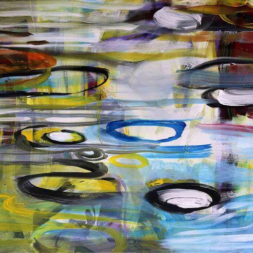Acryl auf Leinwand, 80 x 100 cm, 2017