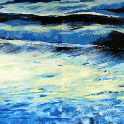 Acryl auf Leinwand, 80 x 200 cm, 2020