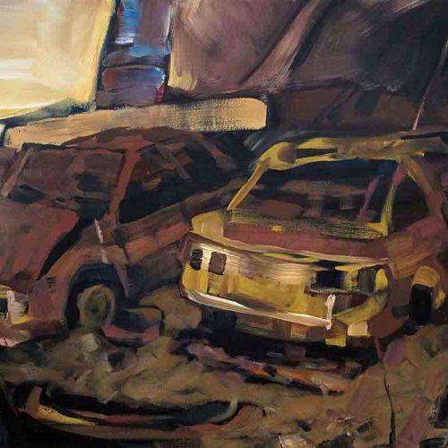 Acryl auf Leinwand, 80 x 120 cm, 2011
