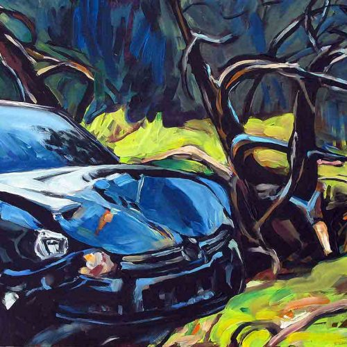 Acryl auf Leinwand, 80 x 120 cm, 2013