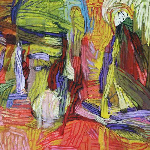 Acryl auf Leinwand, 100 x 140 cm, 2018