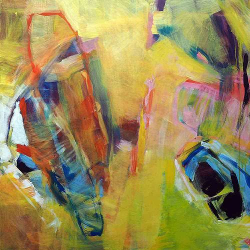 Acryl auf Leinwand, 100 x 100 cm, 2017