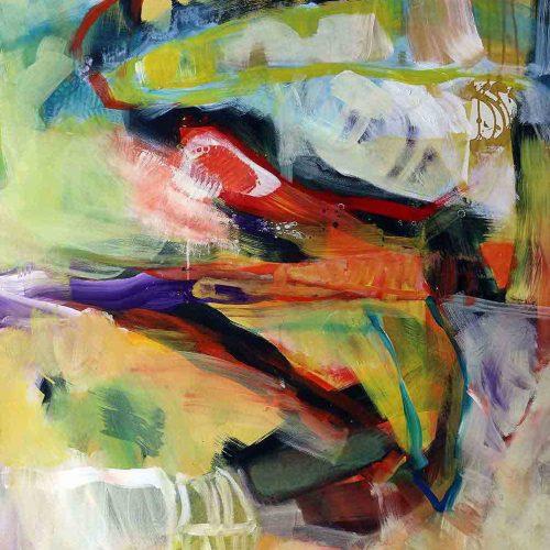 Acryl auf Leinwand, 140 x 100 cm, 2017