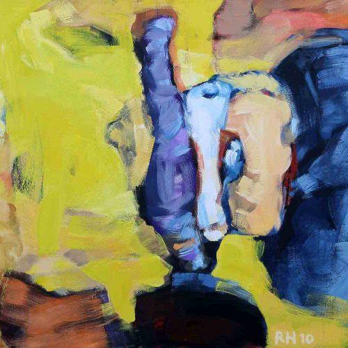 Acryl auf Leinwand, 140 x 100 cm, 2009