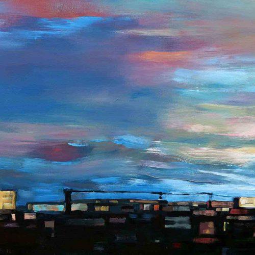 Acryl auf Leinwand, 120 x 150 cm, 2011