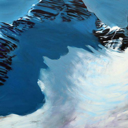Acryl auf Leinwand, 100 x 140 cm, 2013